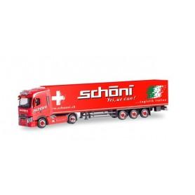 Herpa 311090 Renault T refrigerated box semitrailer 'Schöni International' (Schweiz | Rothrist)