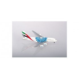Herpa Wings 533713 Flygplan Emirates Airbus A380 - Expo 2020 Dubai 'Mobility' Livery