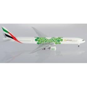 Herpa 533720 Flygplan Emirates Boeing 777-300ER - Expo 2020 Dubai 'Sustainability' Livery