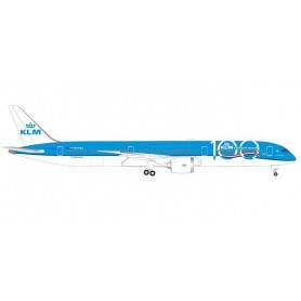 Herpa 533751 Flygplan KLM Boeing 787-10 Dreamliner - 100th Anniversary