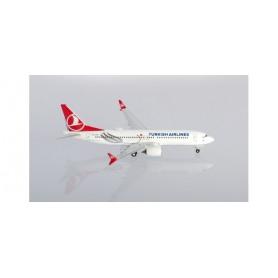 Herpa 533768 Flygplan Turkish Airlines Boeing 737 Max 8 'Tokat'