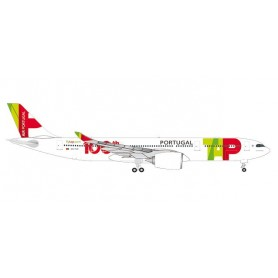 Herpa 533843 Flygplan TAP Air Portugal Airbus A330-900 neo '100th Aircraft'