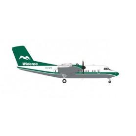 Herpa 570565 Flygplan Wideroe De Havilland Canada DHC-7