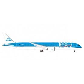 Herpa 570589 Flygplan KLM Boeing 787-10 Dreamliner - 100th Anniversary