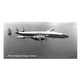 "Herpa 570596 Flygplan Qantas Lockheed L1049G Super Constellation ""Southern Zephyr"""