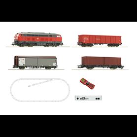 Roco 51312 z21® start Digitalset: Diesel locomotive class 218 with freight train, DB AG
