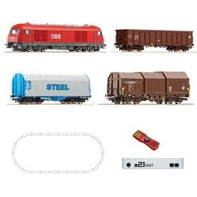Roco 51282 Digital z21 Start Set: Diesel locomotive class 2016 and freight train, ÖBB