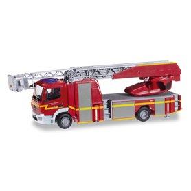 """Herpa 092036 Mercedes-Benz Atego Metz Drehleiter XS """"Schenefeld fire department"""""""