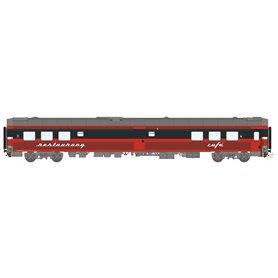 HNoll HN.1466AC Restaurangvagn SJ R4R 5451 Röd Gen. 1 Kaviar text