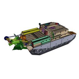 ArsenalM 119108001 Tanks Centurion ARV, Entpannungspanzer 56 Schweiz