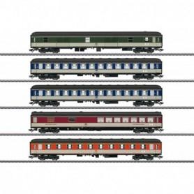 Märklin 43917 Vagnsset med 5 personvagnar typ DB