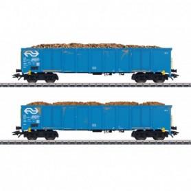 Märklin 47193 Öppen godsvagn med last av betor typ NS
