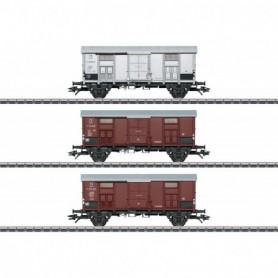 Märklin 47870 Vagnsset med 3 godsvagnar typ FS