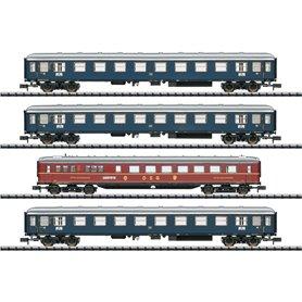 Trix 15132 Vagnsset med 3 personvagnar typ DB 'Merkur'