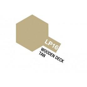 Tamiya 82116 Tamiya Lacquer Paint LP-16 Wooden Deck Tan
