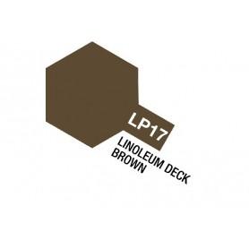 Tamiya 82117 Tamiya Lacquer Paint LP-17 Linoleum Deck Brown