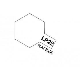 Tamiya 82122 Tamiya Lacquer Paint LP-22 Flat Base