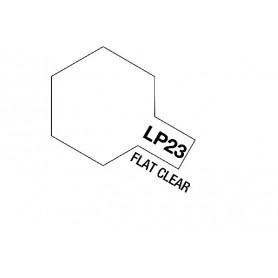 Tamiya 82123 Tamiya Lacquer Paint LP-23 Flat Clear