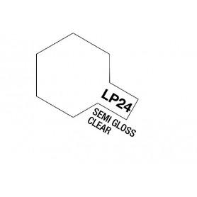 Tamiya 82124 Tamiya Lacquer Paint LP-24 Semi Gloss Clear