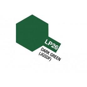 Tamiya 82126 Tamiya Lacquer Paint LP-26 Dark Green (JGSDF)