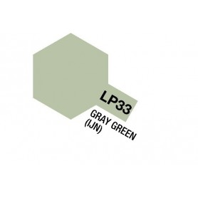 Tamiya 82133 Tamiya Lacquer Paint LP-33 Gray Green (IJN)