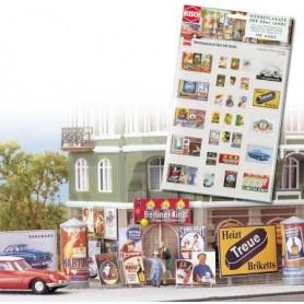 Busch 6002 Reklamskylts-set, 50-års-set
