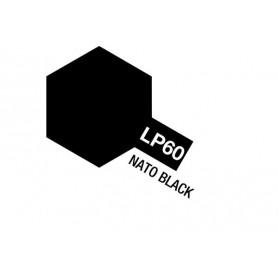 Tamiya 82160 Tamiya Lacquer Paint LP-60 Nato Black