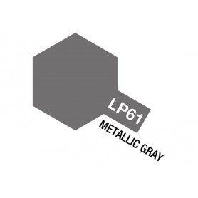 Tamiya 82161 Tamiya Lacquer Paint LP-61 Metallic Gray