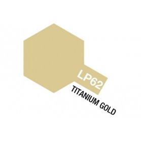 Tamiya 82162 Tamiya Lacquer Paint LP-62 Titanium Gold