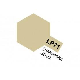 Tamiya 82171 Tamiya Lacquer Paint LP-71 Champagne Gold