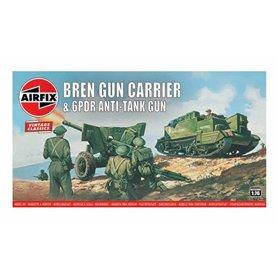 "Airfix 01309V Bren Gun Carrier & 6pdr Anti-Tank ""Vintage Classics"""