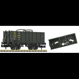 """Fleischmann 826003 Djurtransportvagn """"VO"""" typ K.Bay.Sts.B"""
