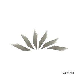 Amati 7493.01 Extrablad för skalpell 7493, 6 st