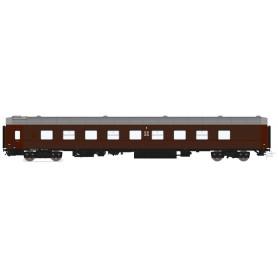 HNoll HN.1113DC Liggvagn SJ BC4R 5467 SJ Brun
