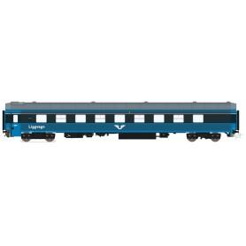 HNoll HN.1133DC Liggvagn SJ BC4 5466 Blå Gen.2