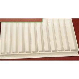 Springer Pinsel 10828 Förvaringslåda med lock, 12 fack
