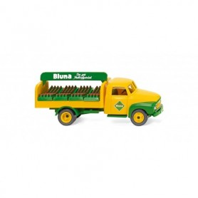 Wiking 35301 Beverages truck (Opel Blitz) 'Bluna'