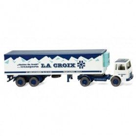 Wiking 52848 Refrigerated semi-trailer (Saviem) 'Lacroix'