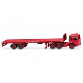 Wiking 55401 Flatbed tractor-trailer (MAN) 'Rosenkranz'