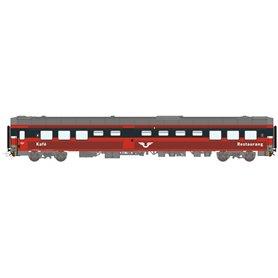 HNoll HN.1467DC Restaurangvagn SJ R4R 5455 Röd Gen 1