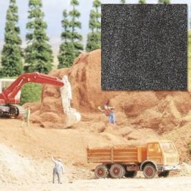 Busch 7524 Ballast, sand, mörkgrå, 250 gram i påse