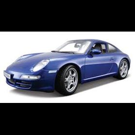 Maisto 31692 Porsche 911 Carrera S, metallic blå