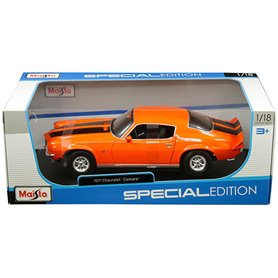 Maisto 31131 Chevrolet Camaro 1971, orange