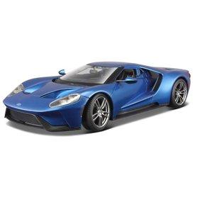 Maisto 31384.1 Ford GT 2017, metallic blue