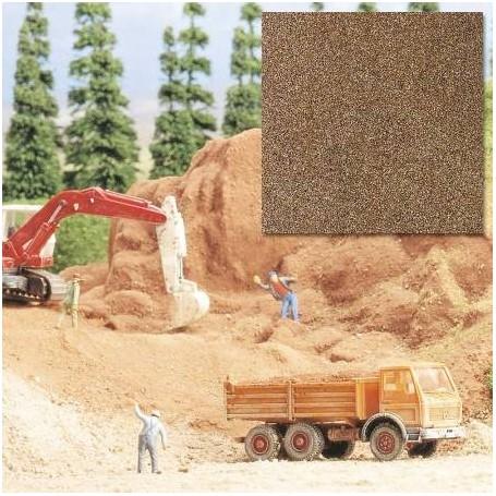 Busch 7523 Ballast, sand, brun, 250 gram i påse