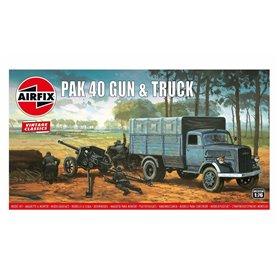 Airfix 02315V Airfix Vintage Classics - PAK 40 Gun & Truck