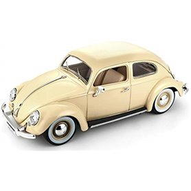 Burago 12029 VW Beetle 1955, ljusbeige