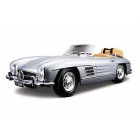Burago 12049 Mercedes Benz 300 SL Touring 1957, silver