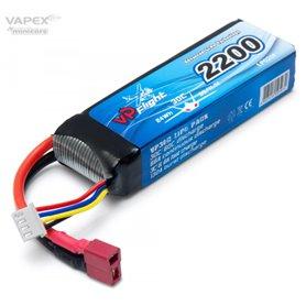 Vapex LP020FD Li-Po Batteri 3S 11,1V 2200mAh 30C T-Kontakt