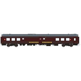 HNoll HN.1412AC Restaurangvagn SJ R4R 5447 Brun